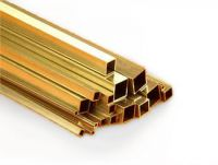 5mm x .45mm Square Brass Tube