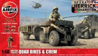 1:48 British Forces -  Quad Bikes & Crew