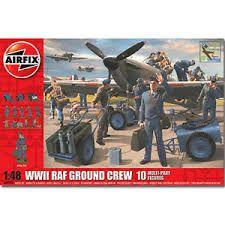 1:48 British Forces - WWII Ground Crew