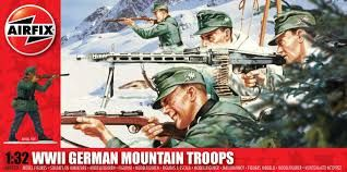 1:32 WWII German Mountain Troops