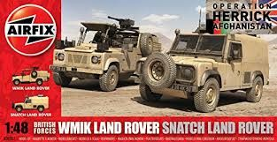 1:48 British Forces - WMIK Land Rover & Snatch Land Rover