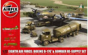 1:72 WWII USAAF Bomber Re-Supply Set